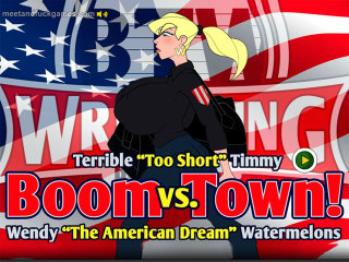 MeetAndFuck APK game free Boom Town! Watermelons Wendy vs. Timmy