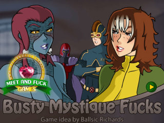 MeetAndFuck Android free game Busty Mystique Fucks