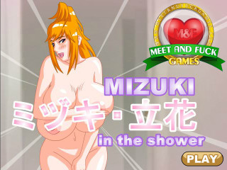 Meet N Fuck for mobile game Mizuki Shower
