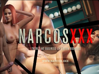 Narcos XXX gangster porn game