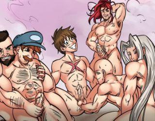 Adult Yaoi gay games anc yaoi gay cartoons